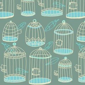 birdcage stack [pistachio]