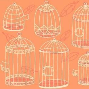 birdcage stack [peach]