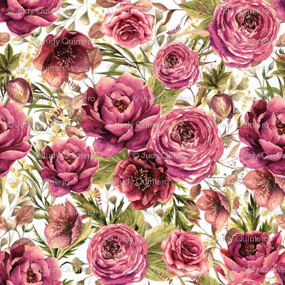 """21"""" Warrior Florals / Sepia"""