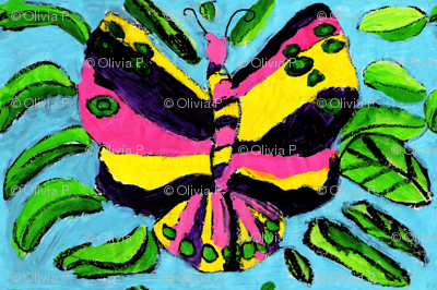 Big Bright Butterfly