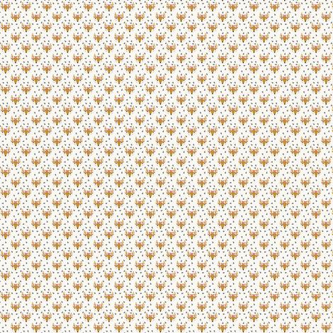 Mini fox print fabric fabric charlottewinter spoonflower for Fox print fabric