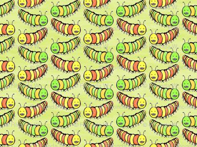 Creepy Crawly Coloured Caterpillars