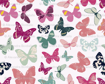 water butterflies