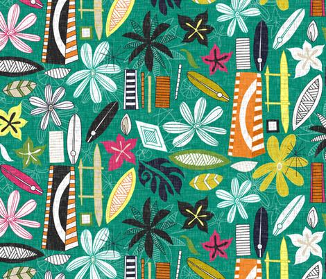 beachy jade fabric by scrummy on Spoonflower - custom fabric