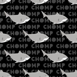 Sharks CHOMP - black