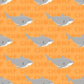 Shark CHOMP - orange