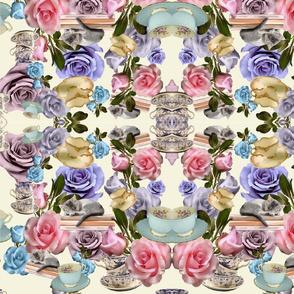 Rose Tea Mirror