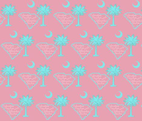 Carolina Girl Palmetto Southern fabric by pickeekids on Spoonflower - custom fabric