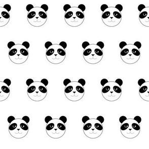 Panda Polka Dots