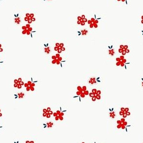 Red flowers_on_white2_-_Drawing_1