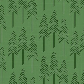 Forest - Pine Trees Deep Green