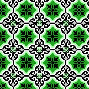 Green Summer Flower