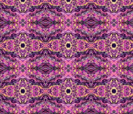 Fuschia Flow fabric by bombaycatdesign on Spoonflower - custom fabric