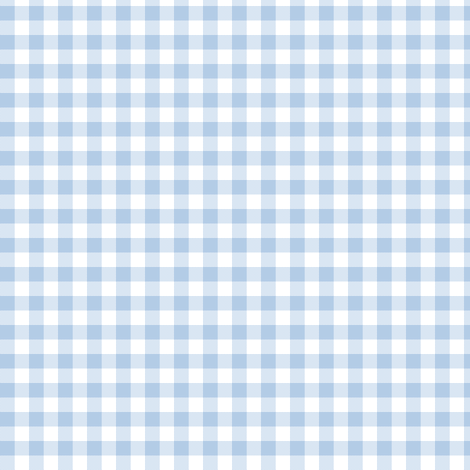 foggy morning pale blue gingham fabric by weavingmajor on Spoonflower - custom fabric