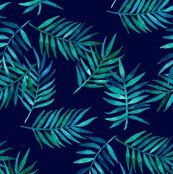Rgreen_palm_leaves_on_navy_repeat_1_shop_thumb