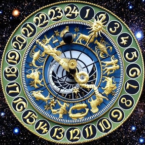 9 clocks time stars universe galaxy zodiac Horoscope Aries Taurus Gemini Cancer Leo Virgo Libra Scorpio Sagittarius Capricorn Aquarius Pisces astrology gold cosmic cosmos planets galaxies nebulae night quasars lobsters twins children baby babies ox bulls