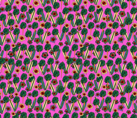 Hawaii  fabric by aliss* on Spoonflower - custom fabric