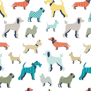 Patterned dogs