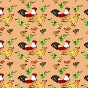ChickenFamilyBronze