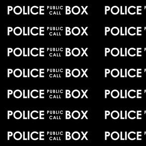 police box medium