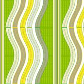 WAVEB-BYLG-EXP Blazing Yellow / Classic Green
