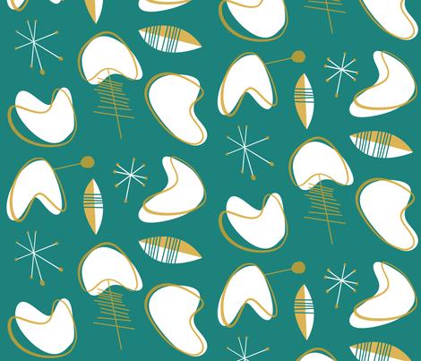Eldfell fabric by theaov on Spoonflower - custom fabric