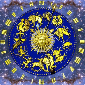 8 clocks time stars universe galaxy zodiac Horoscope Aries Taurus Gemini Cancer Leo Virgo Libra Scorpio Sagittarius Capricorn Aquarius Pisces astrology gold roman numerals cosmic cosmos planets galaxies nebulae night quasars  baroque rococo versace inspir