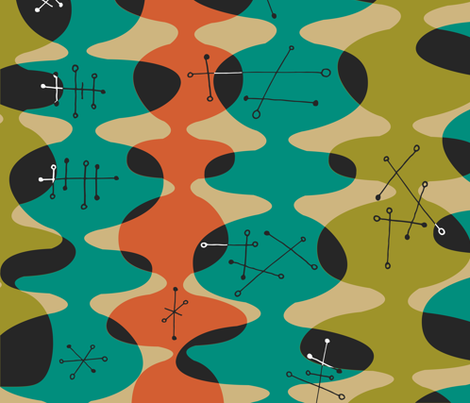 Monto fabric by theaov on Spoonflower - custom fabric