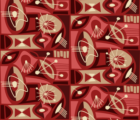 Sietefuentes fabric by theaov on Spoonflower - custom fabric