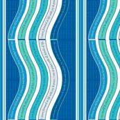 WAVEB-HOIB Hawaiian Ocean / Imperial Blue