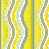 WAVEB-LGBY Lime Green / Blazing Yellow