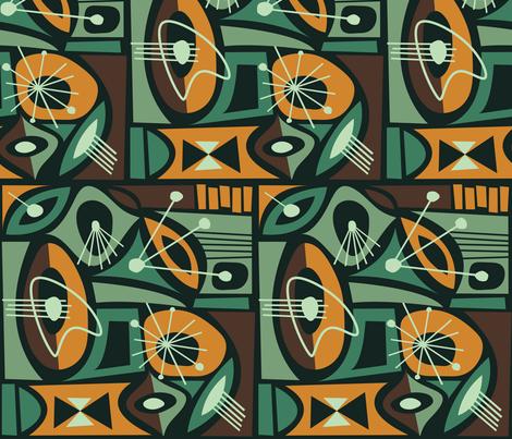 Tehuya fabric by theaov on Spoonflower - custom fabric