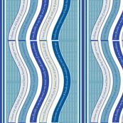 WAVEB-VGMB Vaporous Gray / Milky Blue
