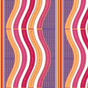 WAVEB-WAPH Warm Apricot / Purple Heart