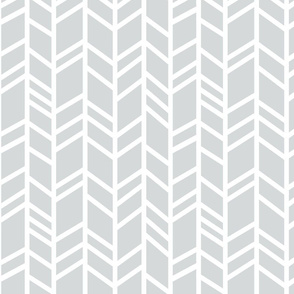 Crazy Herringbone - Light grey