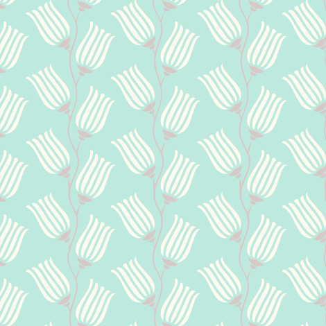 Filigree Flower fabric by eastendstudios on Spoonflower - custom fabric