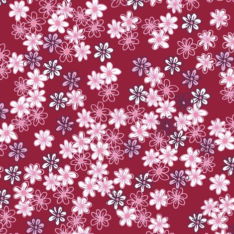 Tiny flowers fabric by eastendstudios on Spoonflower - custom fabric