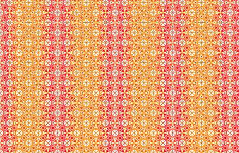 O-ren red fabric by keweenawchris on Spoonflower - custom fabric
