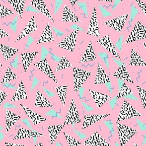 80s pastel retro pastel abstract design