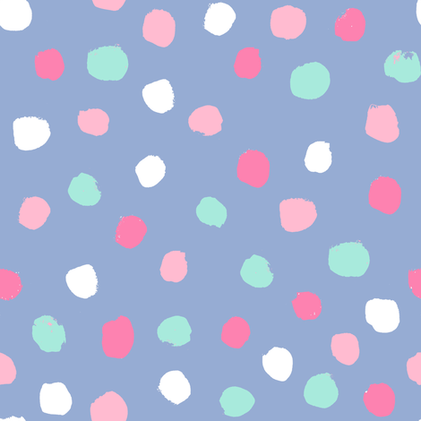 dots party confetti cute pastel nursery happy circus dots fabric by charlottewinter on Spoonflower - custom fabric