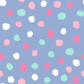 dots party confetti cute pastel nursery happy circus dots