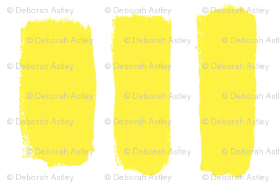 Broader Brush Strokes in Yellow