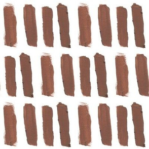 Broad Brush Strokes in Brown