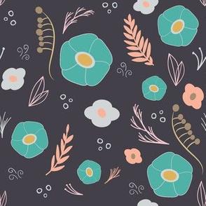 Wildflowers pattern