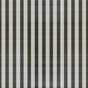 Charcoal white textured stripe
