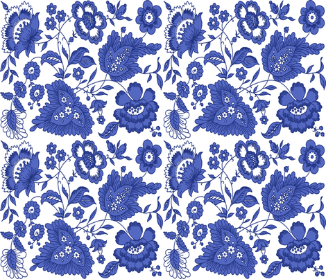 Jacoba ink on white fabric by lilyoake on Spoonflower - custom fabric