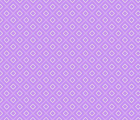 Diamonds over purple fabric by mnmdesigns on Spoonflower - custom fabric
