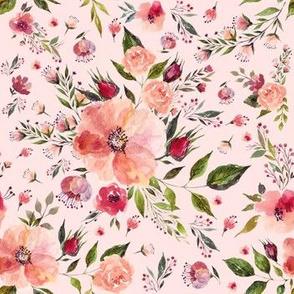 "7"" Flora Rhapsody / Pink"