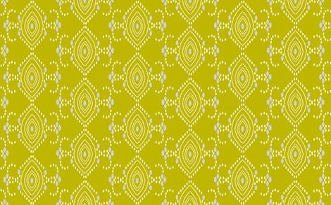 Vega_olive fabric by aebr_design on Spoonflower - custom fabric