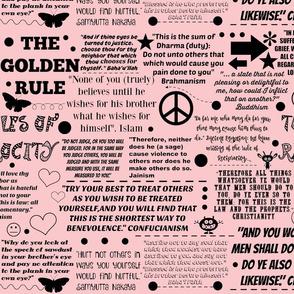 You+ I= We pink